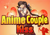 Anime Couples Kiss