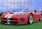 Dodge Viper Jigsaw