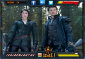 Hansel and Gretel Witch Hunters - Find the Alphabets
