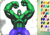 Play Hulk Coloring Game