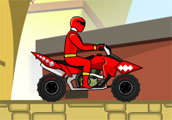 Power Rangers Dino Red ATV