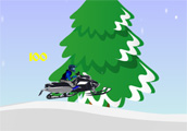 Snow Mobile Racing