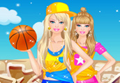 Sporty Barbie Dress Up