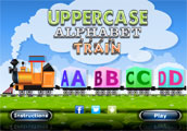 Uppercase Alphabet Train