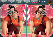 Wreck It Ralph - Spot the Difference
